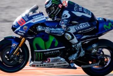 Moto GP: Lorenzo (1º) y Rossi (4º) lo dan todo en la primera jornada de libres en Valencia