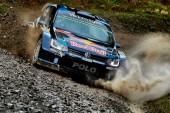WRC: Ogier lidera el 1º día en Gales