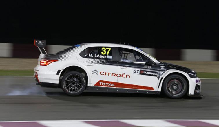 WTCC: Pechito dominó la primera carrera en Qatar