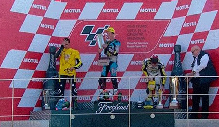 MotoGP: Rabat vence en su despedida de Moto2 y Rins es subcampeón
