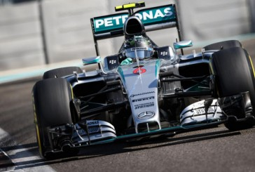 Fórmula 1: Rosberg lideró los Libres 2 y Hamilton los Libres 1 en Yas Marina