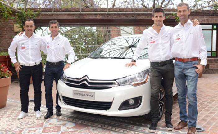 TN C3: El equipo Citroën presentó a sus pilotos