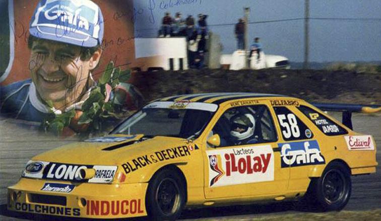 01/11/1992, en la inauguración del circuito de casi 2800mts, ganaba en Oberá René Zanatta