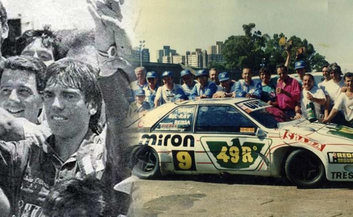 Un 13 de Diciembre de 1987, Silvio Oltra se consagraba campeón del TC2000