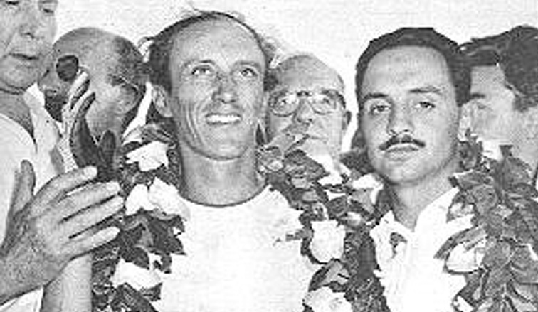 23 de enero de 1955, Enrique Sáenz Valiente ganada los 1.000 kms de Bs. As.