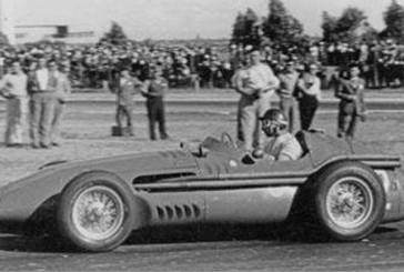 13 de Enero de 1957, Fangio y Menditeguy hacian podio en Argentina