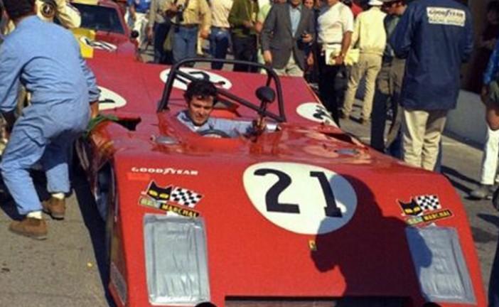 31 de Enero de 1971, García Veiga terminaba 5º en Daytona