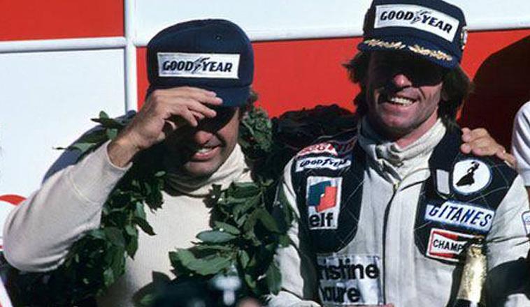 """21 de Enero de 1979, """"Lole"""" Reutemann subía al podio en el GP de Argentina"""