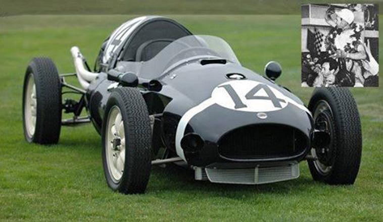 19 de enero de 1958, ganaba el GP de Argentina Stirling Moss con el Cooper Climax