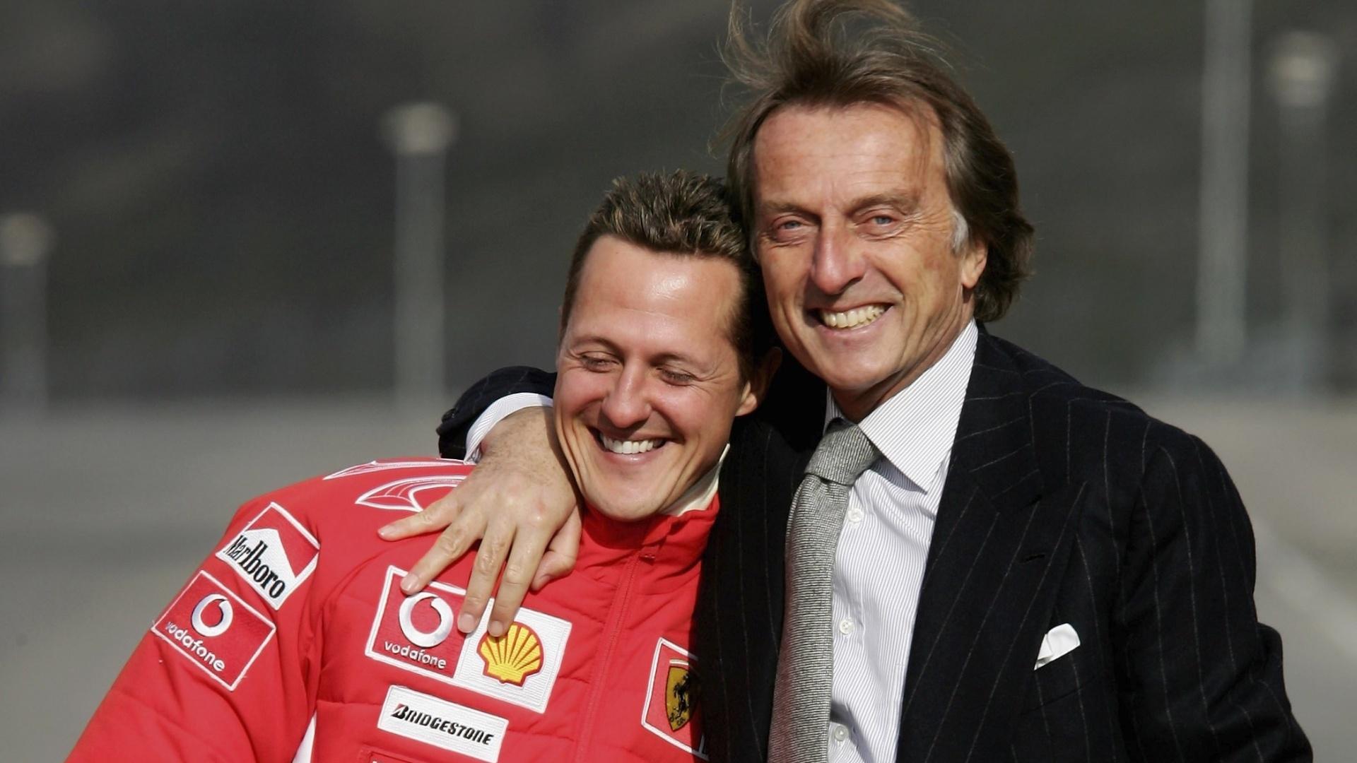 """Montezemolo sobre la salud de Schumacher: """"Las noticias no son buenas"""""""