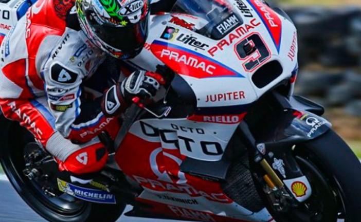 Moto GP: Se llevaron a cabo los test australianos, bajo una intensa lluvia