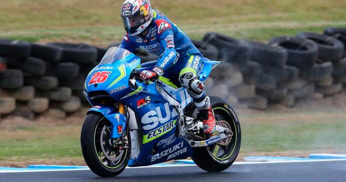Moto GP: Maverick Viñales dominó los segundos entrenamientos