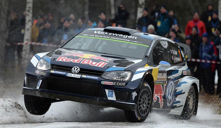 WRC: Ogier marca el ritmo en Suecia