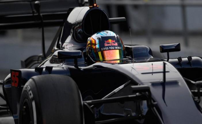 Fómula 1: Sainz exprime al Toro Rosso para completar 157 vueltas en el tercer día de test