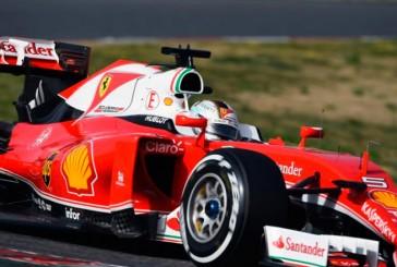 Fórmula 1: Día 2 de test, Vettel iguala su mejor tiempo en la sesión matutina