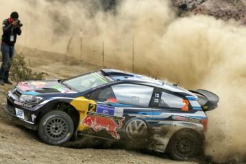 WRC: Hat-trick de Latvala consiguiendo más de un minuto de ventaja