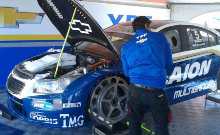 STC2000: Canapino y Merlo arrancaron con todo en los entrenamientos