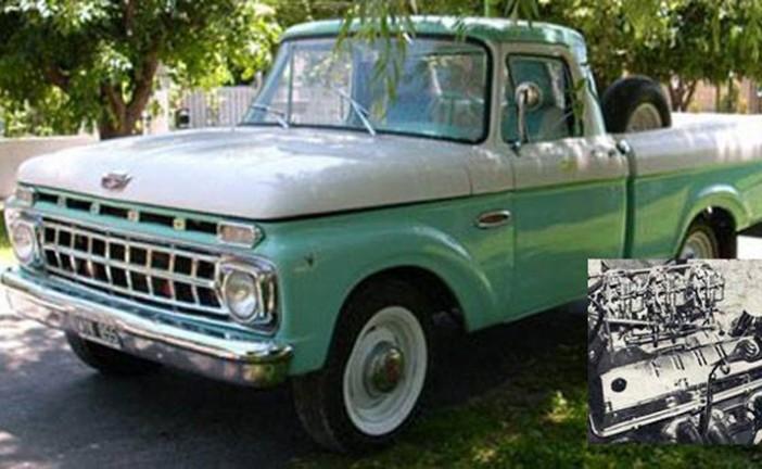 16 de Marzo de 1961, desde Pacheco salía el motor V8-292 MD, más conocido como F100
