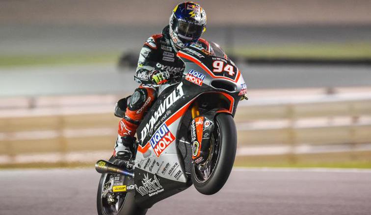 MotoGP: Fenati logró la pole position en Moto3 y Folger en Moto2