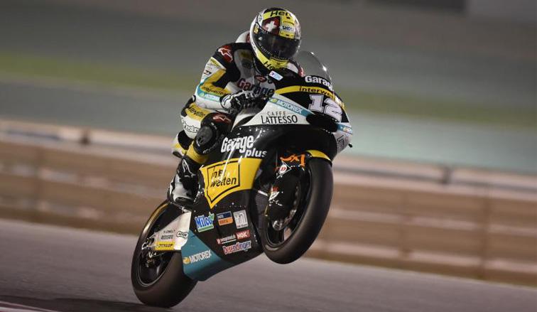 MotoGP: Victoria de Luthi en el GP de Qatar de Moto2