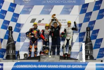MotoGP: Antonelli vence el GP de Qatar de Moto3