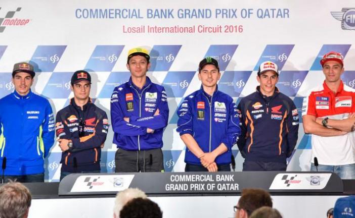 MotoGP: Conferencia de prensa del Grand Prix de Qatar