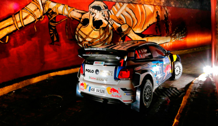WRC: Oggier lidera en México