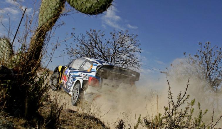 WRC: Latvala es líder en el Rally de México