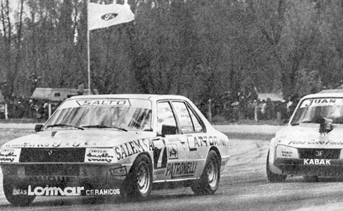 17 de Marzo de 1985, ganaba Serafini en TC2000