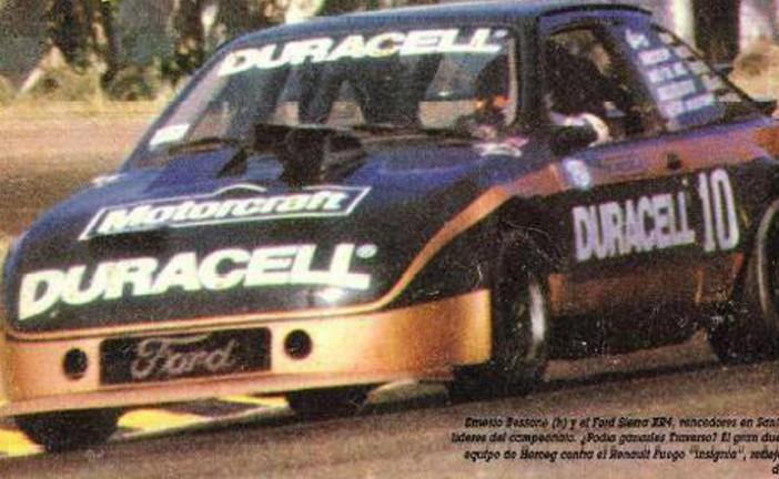 6 de abril de 1986, Bessone ganaba en el callejero de Santa Fe