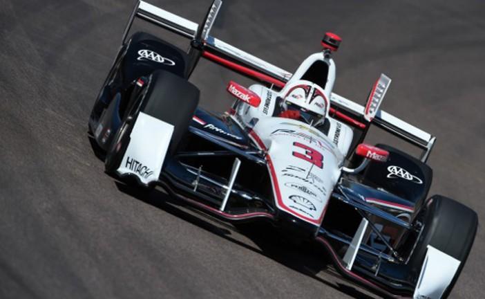 Indy Car: Castroneves hizo la «pole» en Phoenix