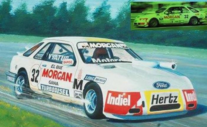 14 de abril de 1985, primer triunfo de Rubén Daray en TC2000