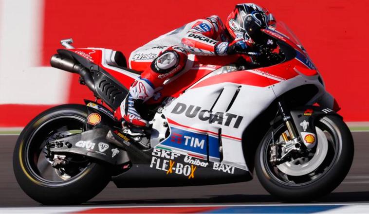 MotoGP: Dovizioso logra el mejor tiempo en la FP1 en Termas de Río Hondo
