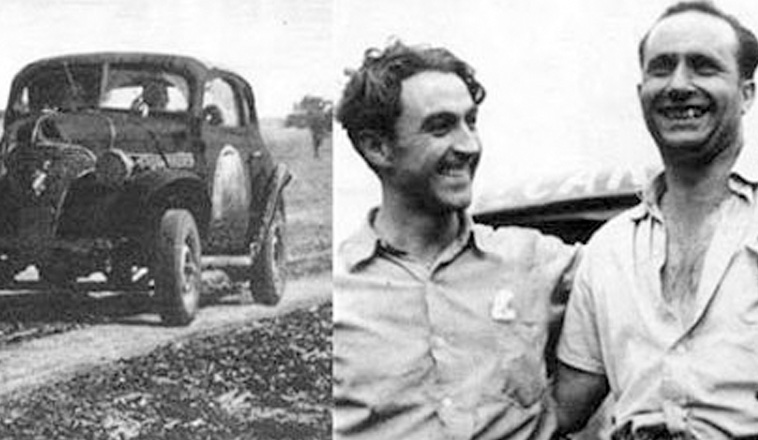 25 de abril de 1948, Fangio ganaba su última carrera en TC