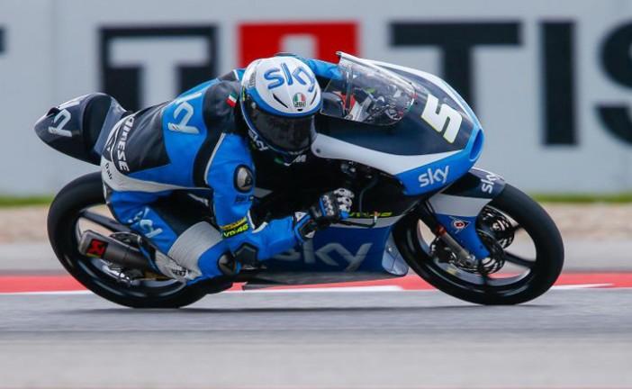 MotoGP: En Moto 3, Fenati gana el GP de Las Américas
