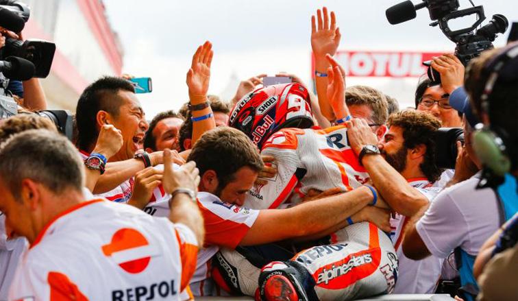 MotoGP: Victoria de Márquez el GP de la República Argentina
