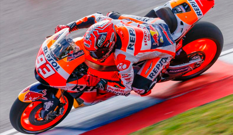 MotoGP: Márquez impone su ritmo en la FP2