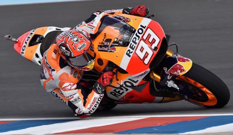 MotoGP: Pole para Marc Márquez en Termas de Río Hondo