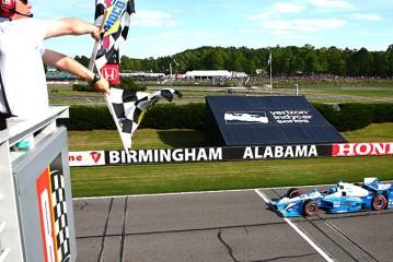 Indy Car: Pagenaud se queda con el Grand Prix de Alabama