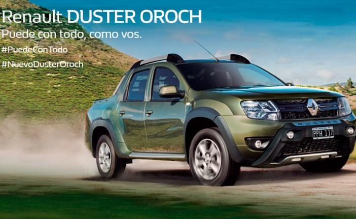 Macua presenta la nueva Renault DUSTER OROCH
