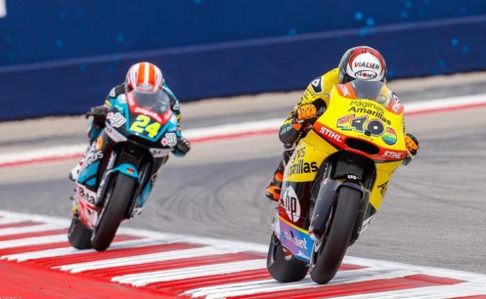 MotoGP: Rins logra la pole en Moto 2 y Phillip Oettl en Moto3