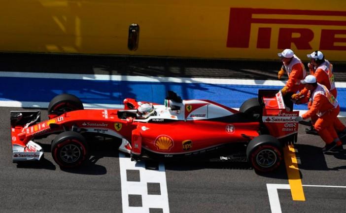 Fórmula 1: Sancionaron a Vettel con cinco lugares