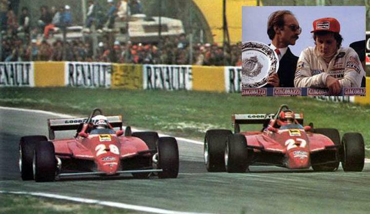 25 de abril de 1982, estalla la guerra Pironi – Villeneuve