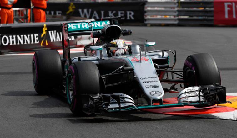 Fórmula 1: Hamilton lidera unos accidentados Libres 1 del GP de Mónaco