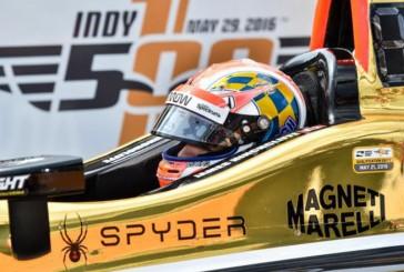 Indy Car:  Hinchliffe gana la pole para la Indy 500