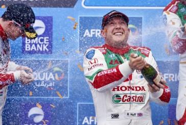 WTCC: Huff se quedó con la carrera principal en Marruecos