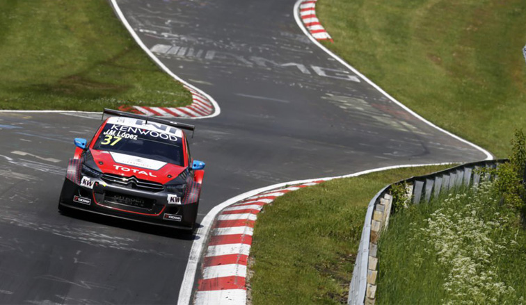 "WTCC: ""Pechito"" López y un doblete en Nürburgring"