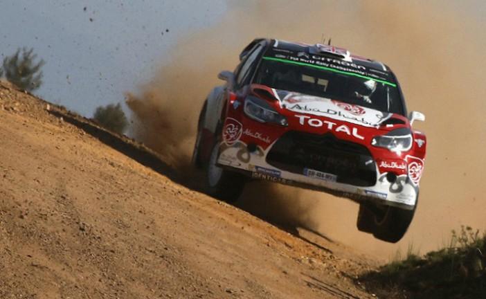 WRC: Meeke ganó todos los tramos matinales