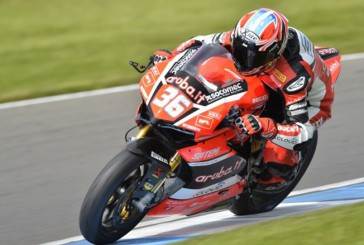 "Superstock 1.000: ""Tati"" Mercado hizo podio en Donington Park"