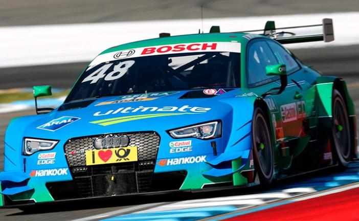 DTM: Edoardo Mortara gana la primer pelea en Hockenheim.